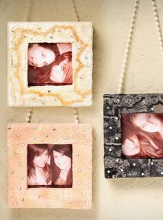 Create Vintage-look wall frames for an easy home decor update.