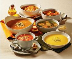 Aproveite o finzinho de inverno com sopas deliciosas!!!