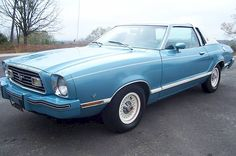 1977 powder blue mustang images | More information on this 1977 Ford Mustang at MustangAttitude.com. I LOVED this car and still miss it.