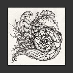 Fairy Tangles: A Few New Zentangles
