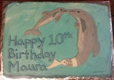 Dolphin Tale 2 Cake