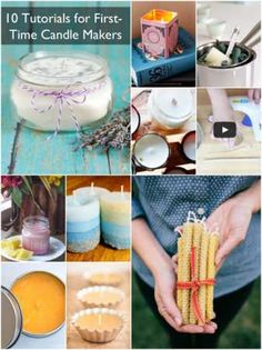 10 Tutorials for First-time Candle Makers ☀CQ #crafts #DIY