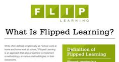 """Toward a common definition of """"flipped learning"""" - Casting Out Nines - The Chronicle of Higher Education"""