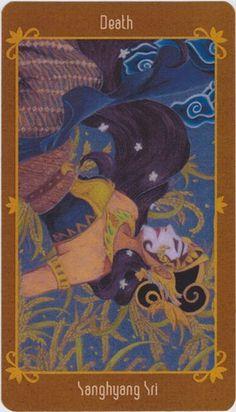 Death - The Osborne Tarot Collection   Javanese Folktales Tarot