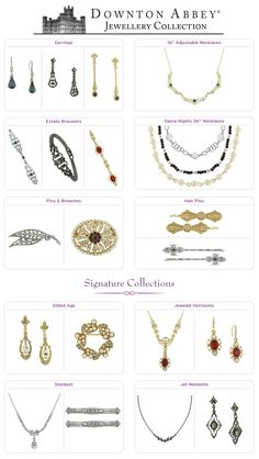 Shop PBS - New Collections: Downton Abbey Jewelry