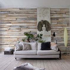 wood textured Wall Mural
