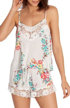 Shop a great selection of In Bloom Jonquil Kokomo Short Pajamas. Find new offer and Similar products for In Bloom Jonquil Kokomo Short Pajamas. Cute Sleepwear, Sleepwear Women, Pajamas Women, Pretty Lingerie, Beautiful Lingerie, Purple Lingerie, Ropa Interior Babydoll, Pajama Shorts, Fashion Outfits