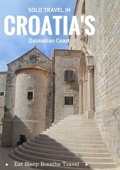 Best Places to Travel Solo: Croatia's Dalmatian Coast - Eat Sleep Breathe Travel Visit Croatia, Croatia Travel, Best Places To Travel, Cool Places To Visit, Travel Things, Solo Travel Tips, Single Travel, Travel Around Europe, Europe Destinations