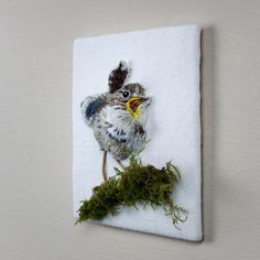 Made By Hand Online - Baby wren embroidery by Sarah J Perry Designs at madebyhandonline