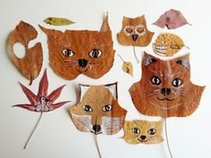 All it takes is some embroi­dery floss or a marker to turn fresh fall leaves into a fun project for you and the lit­tle ones!  It's time to head out­side and hunt for inter­est­ing leaves… Here are two great ideas for you and your kids to use fresh leaves as a can­vas for embroi­dery or press them and draw fun ani­mal friends! It's time to ...