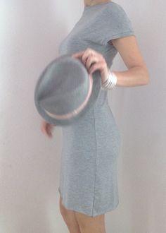 beautiful stretch gray dress /coktail dress/summer by atelierPop