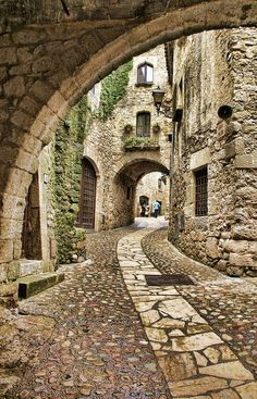 Streets of Catalonia, Spain