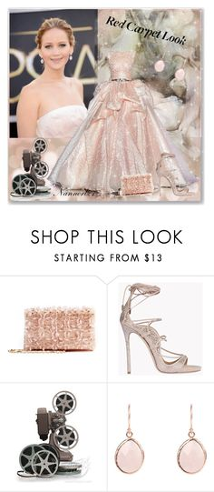 """""""Jennifer Lawrence"""" by nannerl27forever ❤ liked on Polyvore featuring Zuhair Murad, Oscar de la Renta and Dsquared2"""