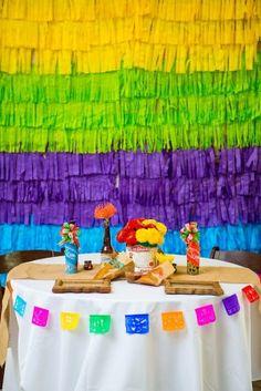 Celebrate Cinco de Mayo with these fabulous DIY 10 Papel de Picado Projects. Cinco De Mayo Traditions, Mexican Birthday, 70th Birthday, Mexican Fiesta Party, Party Time, Party Party, Tissue Paper, Party Ideas, Salsa Party