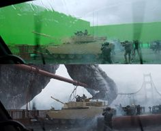 Using NUKE On The Film Hours VFX Learning Pinterest - 27 incredible before and after shots of visual effects in film
