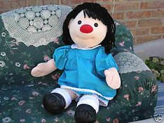 Molly from the Big Comfy Couch; I know she not alice in wonderland but I'm getting my little girl this doll