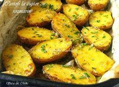 » Cartofi la cuptor cu rozmarinCulorile din Farfurie