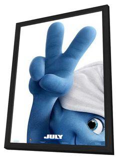 The Smurfs 2 11x17 Framed Movie Poster (2013)