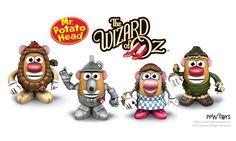 Wizard of Oz Potato Heads!