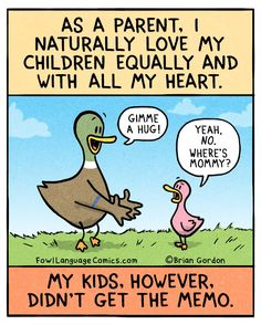 Crying back to school funny, fowl language comics, parenting humor, parenting tips, Funny Shit, Hilarious, Funny Stuff, Funny Things, Funny Duck, Funny Kids, Back To School Lustig, Love My Kids, My Love