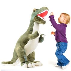 "Prextex 24"" Giant Plush Dinosaur T-Rex Jumbo Cuddly Soft Dinosaur Toys for Kids ** Continue to the product at the image link. (This is an affiliate link)"