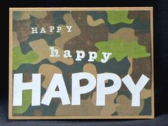 Birthday card for fans of Duck Dynasty and other would-be rednecks.