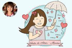 Festa do Amor da Marina! <3  Carinhas - Design & Ilustração - carinhas.com.br