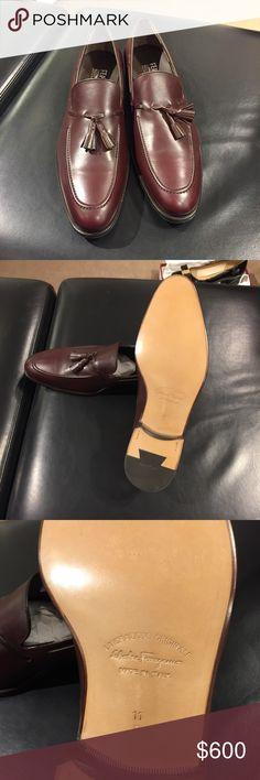 NIB Salvatore Ferragamo Tassel Loafer Calf skin tassel loafers. Brand new in box. Like now price drops soon. Salvatore Ferragamo Shoes Loafers & Slip-Ons