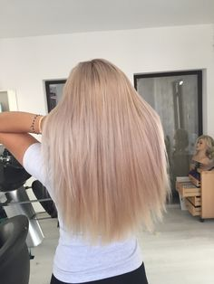 Long Hair Styles, Rose, Beauty, Pink, Roses, Cosmetology, Long Hairstyles, Long Hair Cuts, Long Hairstyle