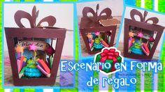 DIY| Escenario en forma de regalo | Regalo especial | 🎁🎂🎁🎂