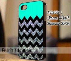 Glitter Print Chevron iPhone Case And Samsung Galaxy Case