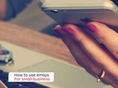 Should small business speak emoji? http://auspo.st/1R4MFyi  #SmallBizAU