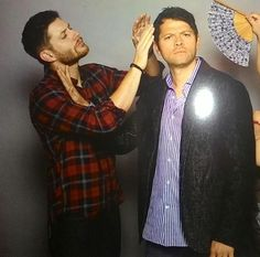 Misha Support Squad on. Jensen AckelsSupernatural FansCocklesMisha ...