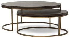 Lillian August- Bassey nesting cocktail table  #DRC #monthlyspecials