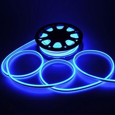 UNITECH Flexible LED Neon Rope Light Xmas Lighting Blue ** You can get additional details at the image link. Led Rope Lights, Xmas Lights, Neon Lighting, Strip Lighting, Neon Lamp, Luz Led, Lighting Solutions, Bar Signs, Led Strip