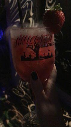 Ibiza, Wine Glass, Strawberry, Fruit, Halloween, Tableware, Food, Raspberry Syrup, Strawberry Fruit