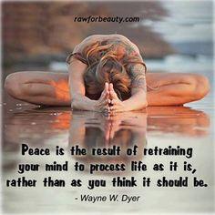 think peace.