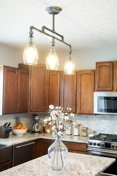 DIY Light Fixture Home DIY Pinterest Diy Pendant Light - Kitchen pendant light fittings