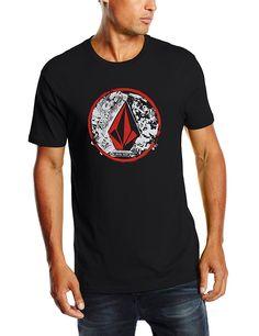 Camiseta surf chicos.  Volcom Punk Circle SS - Camiseta para hombre