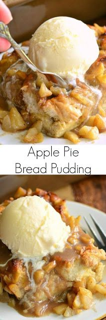 mytinyhousedirectory: Apple Pie Bread Pudding ~ Yes Please!