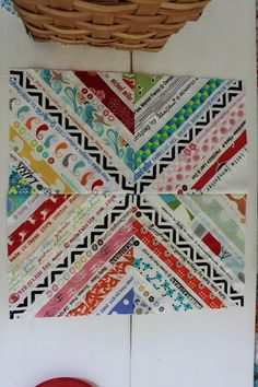 Lolly quilt.  It's great to see how a traditional art form can have a contemporary look as well.