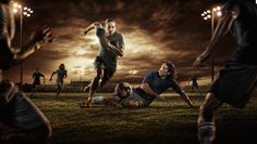 Dean Bradshaw   Star Trac Ad Campaign - Spinne