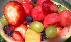 Homemade fruit salad (yummy, yummy)
