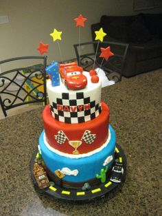 Disney Cars Birthday Cake @Olivia García García García Brown