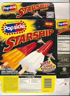 Popsicle Starships
