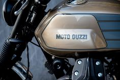 Moto Guzzi 2014 By Karoo Tailored Motorcycles Moto Guzzi Motorcycles, Guzzi V7, Automobile, Bike, Tractors, Wheels, Paint, Stone, Motorbikes