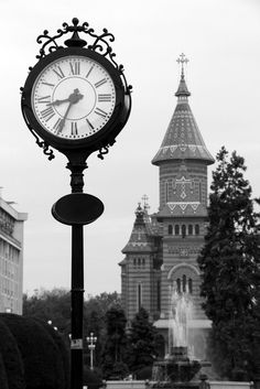Timişoara, Piata victoriei, Romania Best Cities, Romania, Big Ben, Clock, Vacation, Live, Places, Photography, Watch