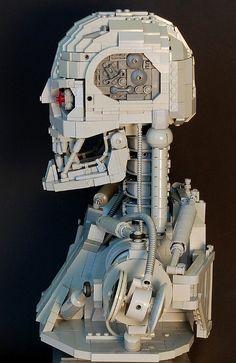 DO NOT LIKE: Terminator-800 LEGO Bust   Geekologie
