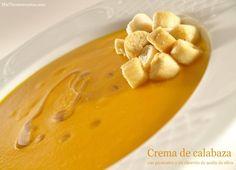 Crema de calabaza - MisThermorecetas.com