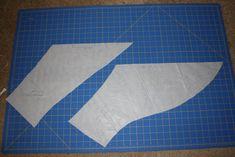 Sew Skate Read: Skating Dress Tutorial Part III: Preparing the Pattern and Cutting Fabric